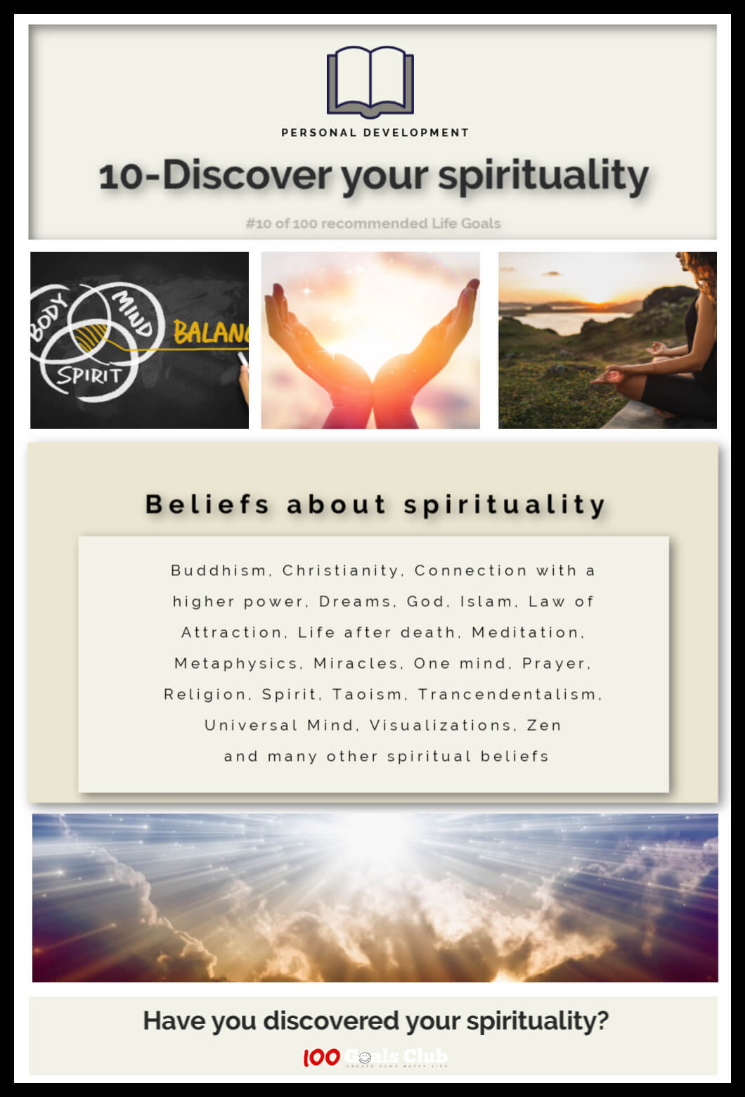 Discover your spirituality