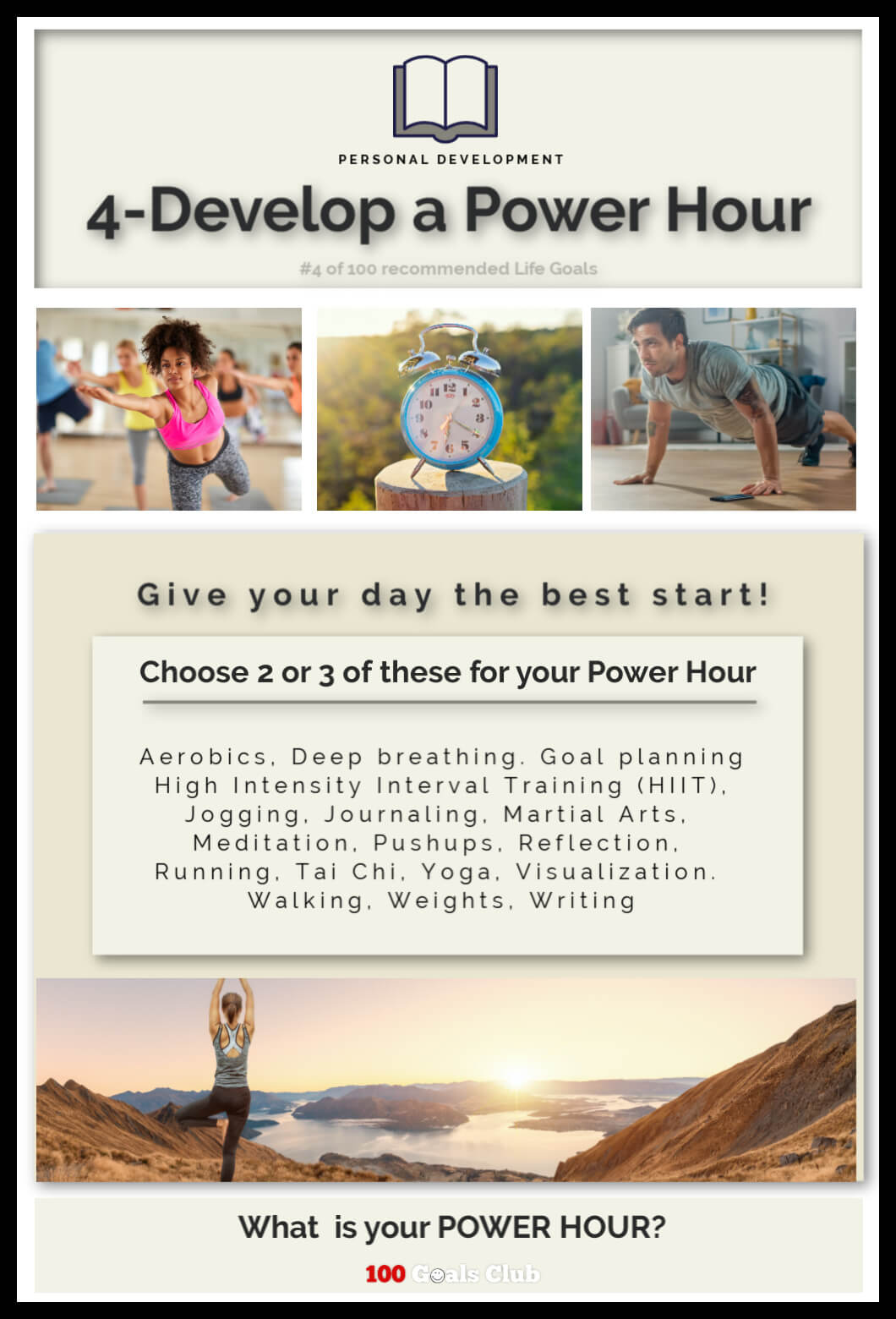 What is a power hour?